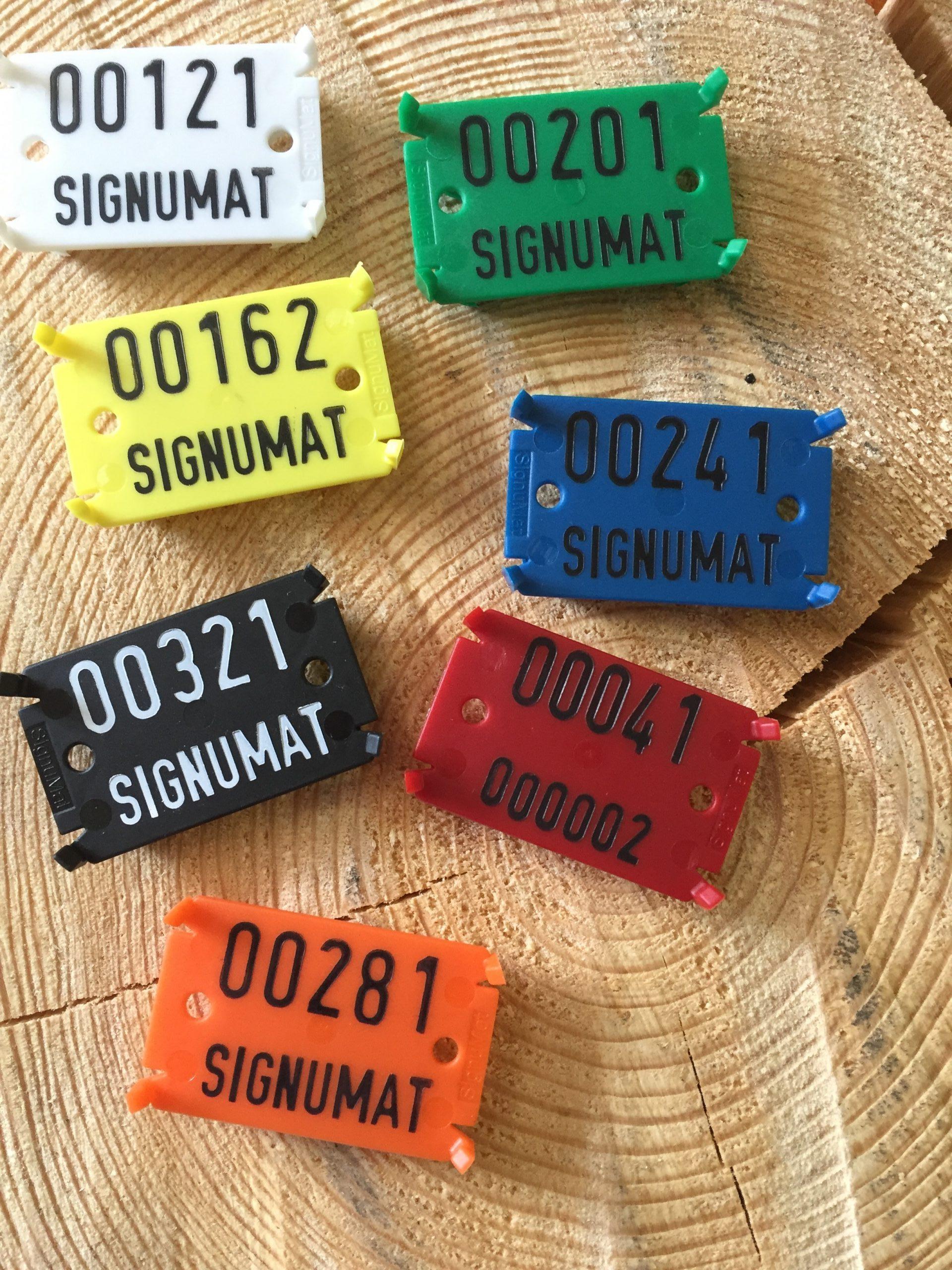 Кольорові бирки Signumat допоможуть з ідентифікацією деревини